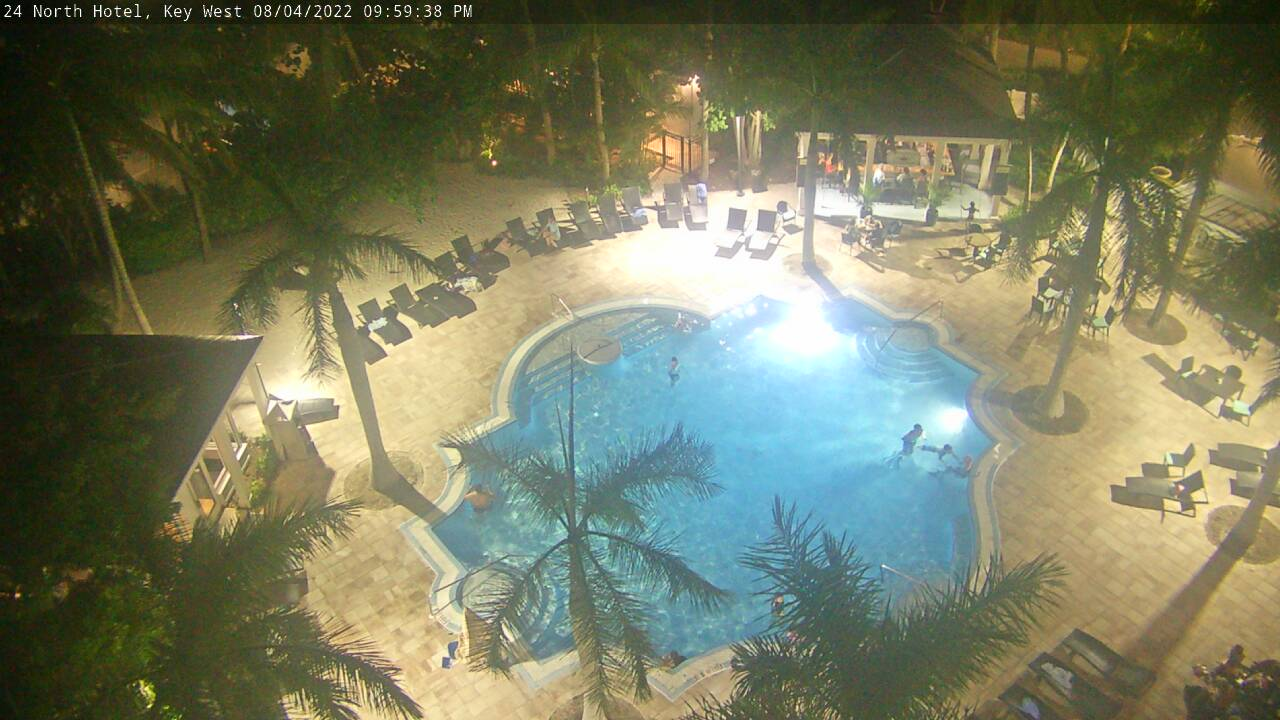 24 North Hotel: Sunset Green Event Lawn Cam