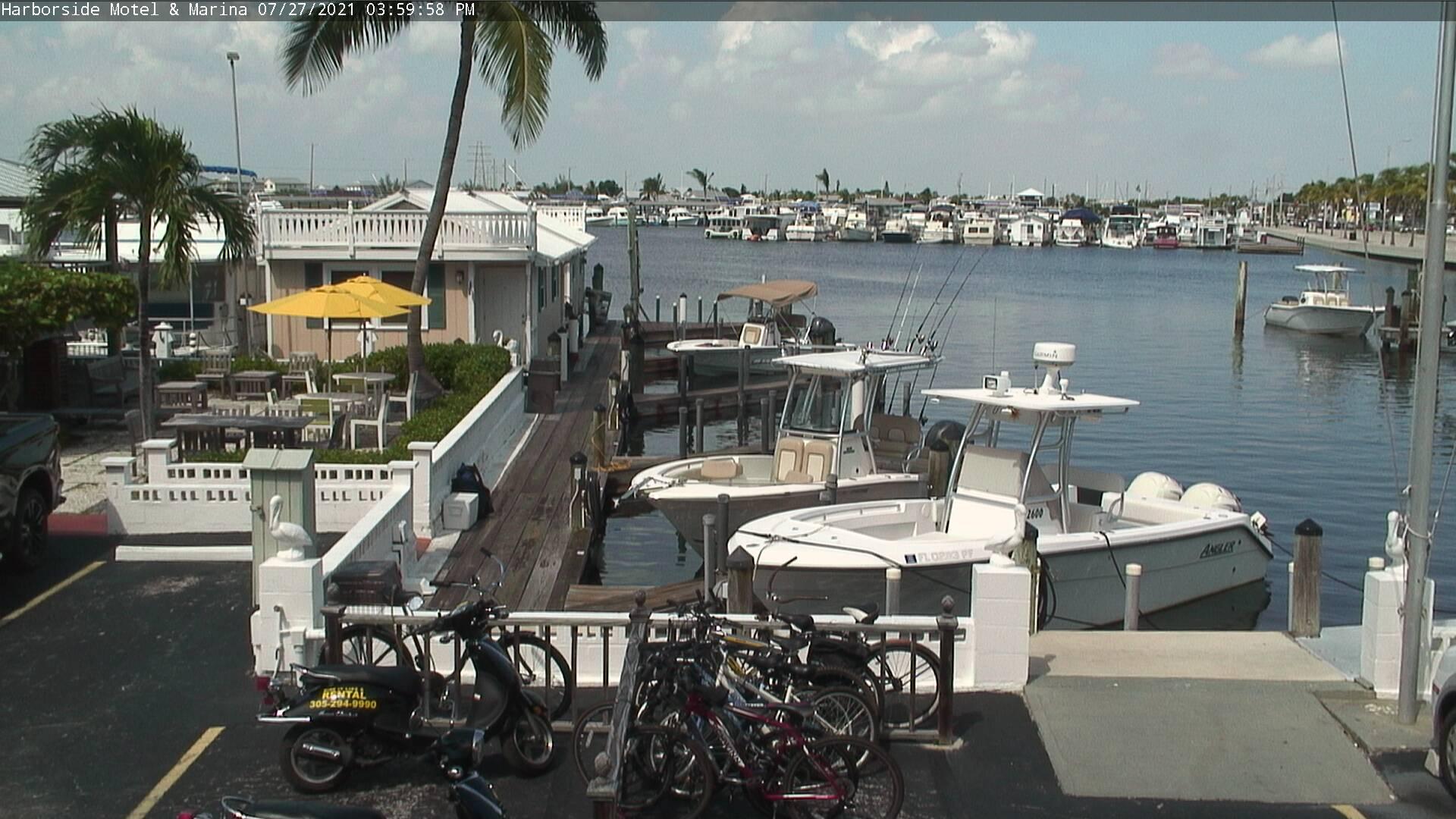 Key West Florida Webcam – Harborside Motel & Marina