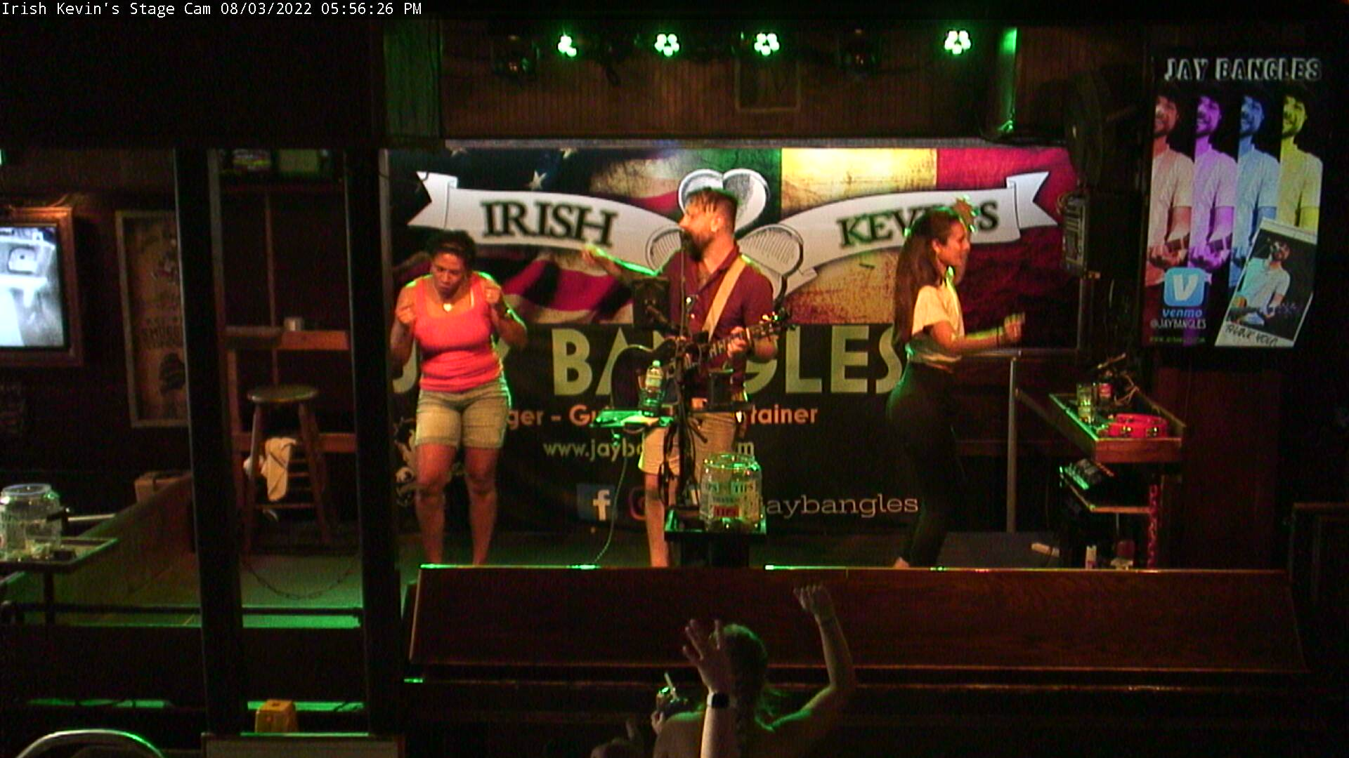 Irish Kevin's: Stage Cam