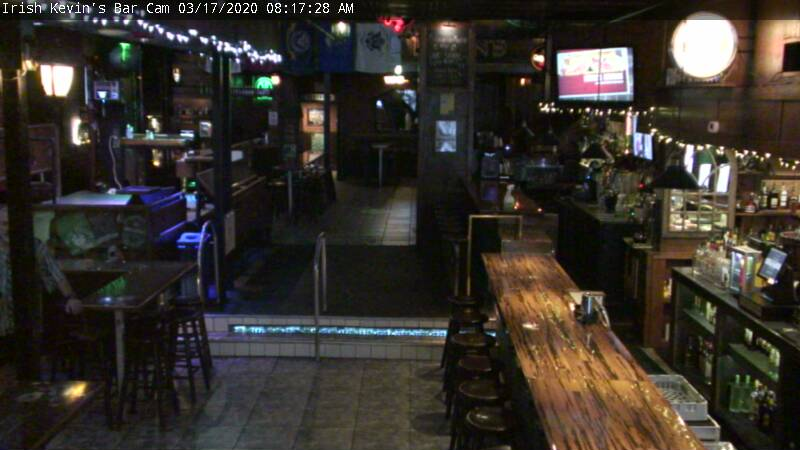 Irish Kevin's: Bar Cam