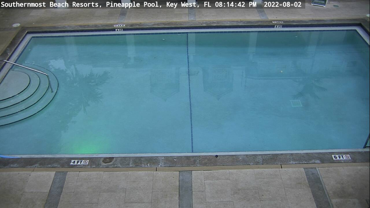 Southernmost Beach Resort: Pineapple Bar Cam