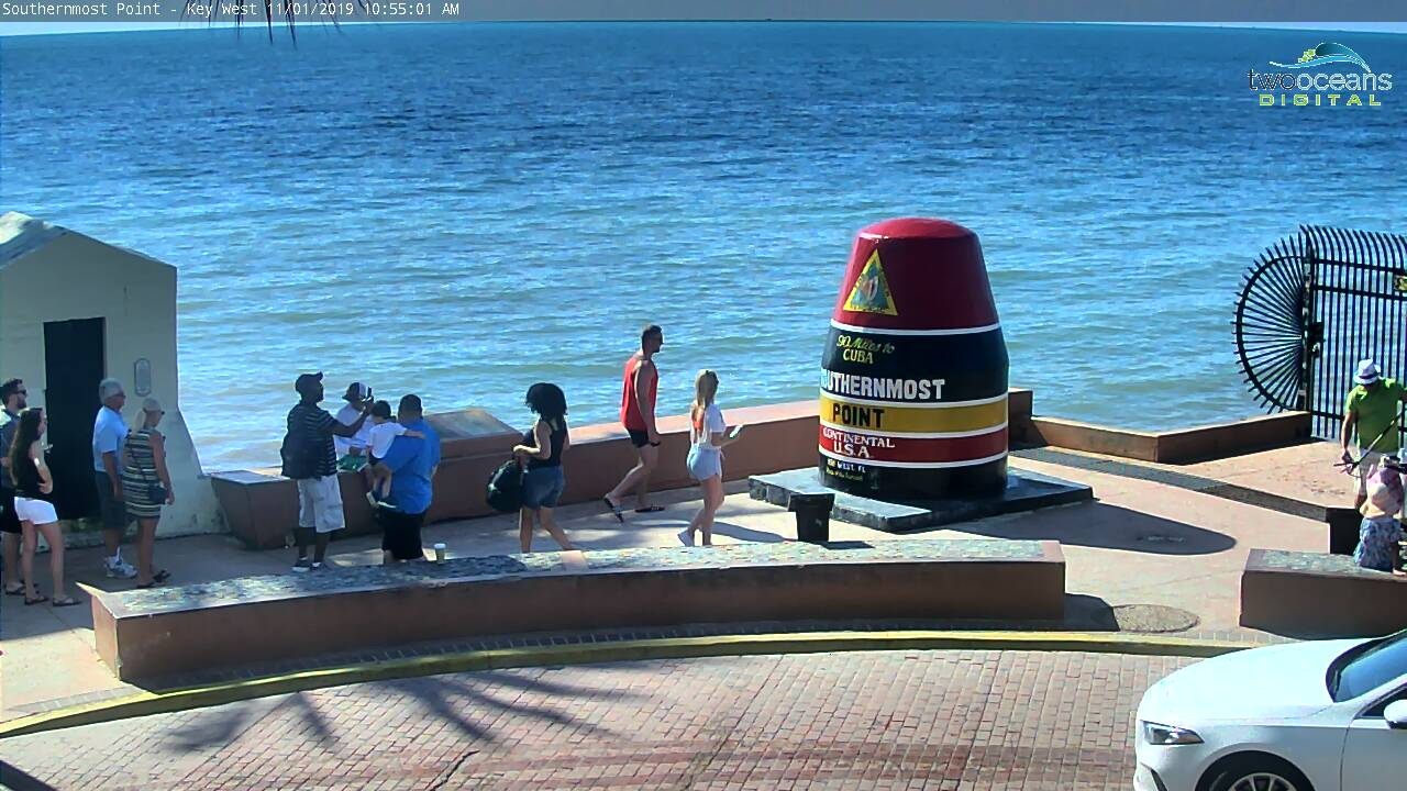 Southernmost Point Webcam Image