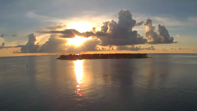 Ocean Key Resort: Sunset Cam
